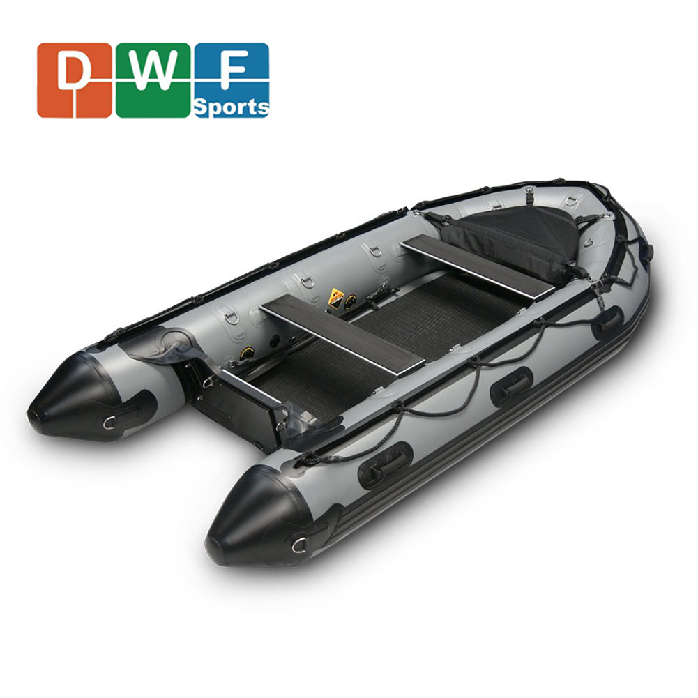 CE Certificate Factory Price Inflatable 8 Persons Fishing Boat