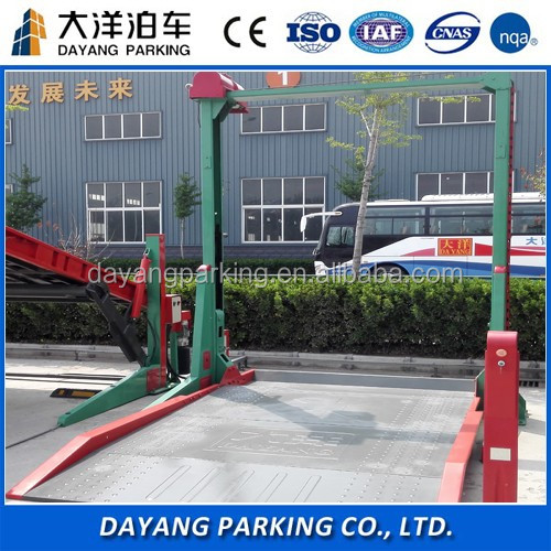 Cheap price hydraulic two post car parking lift,two post car hoist