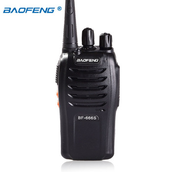 China portable hf hm transceivers cheap Baofeng BF-666S hf walkie-talkie