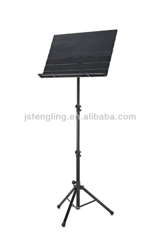 high quality aluminium alloy folding music stand