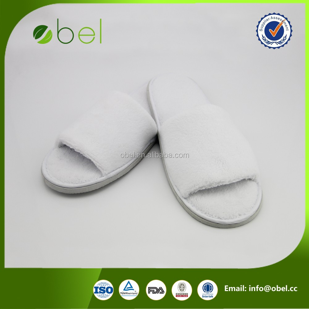 hotel pedicure and toe separator fashion slipper