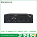 High qualified 24V J1900 fanless industrial mini pc support OEM and ODM services