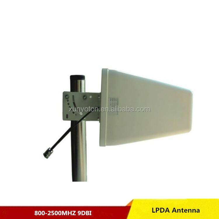 9dbi dual band 698-2700 MHz DAS lpda antenna 3g 4g lte cell phone signal booster wifi wireless internet antenna