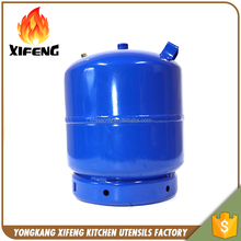 Customized natural 3kg lpg bharat gas cylinder price