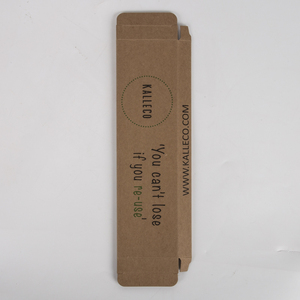 High Quality Custom Printed Brown Small Kraft Paper Packaging Box