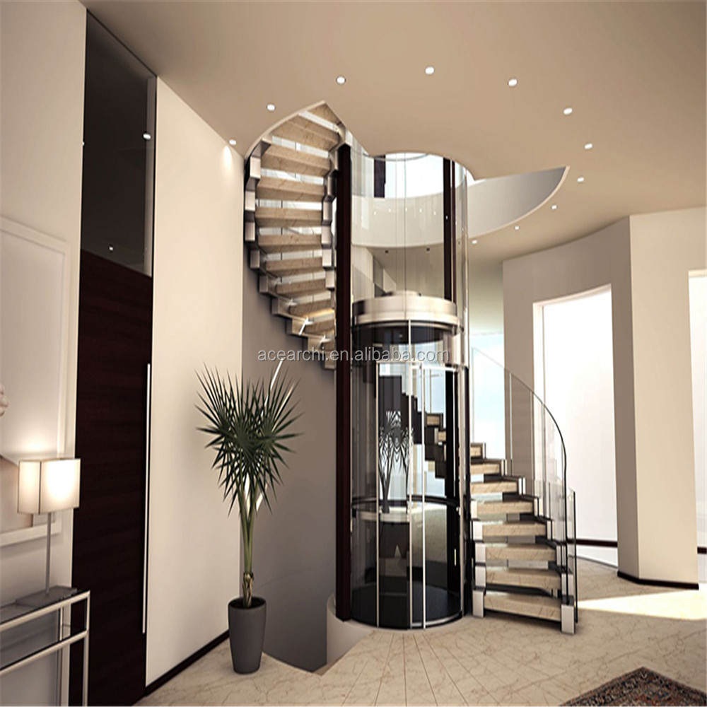 Newest Design Outdoor Metal Spiral Staircase / White Carbon Steel Spiral Stairs