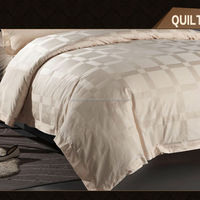 Hotel Cheap Cotton Patchwork Quilted Bedspreads Sets