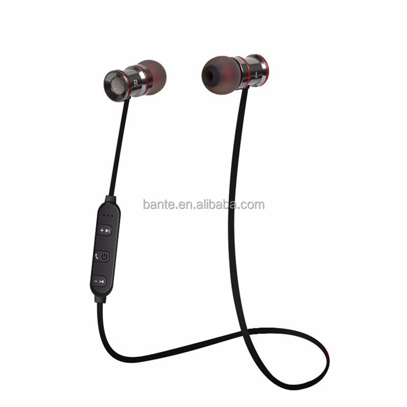 Fashion in-ear stereo bluetooth headset, bluetooth earphone for sport