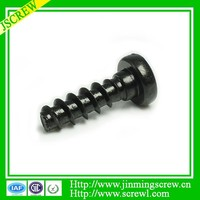 M2.6 torx drive recess pan head shoudel self tapping screws