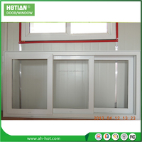 German Brand Profile PVC Sliding Glass Window Rainproof Window Screen Manufacture