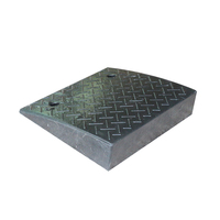480*420*110mm Black Rubber Car Curb Ramp Road Ramps