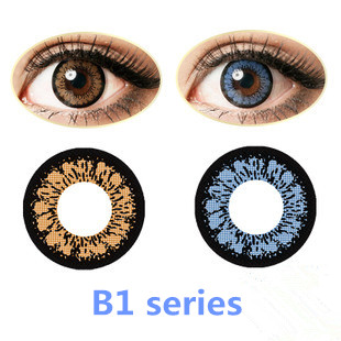 cosmetic color contact lenses,2 tone natural color contact lenses,beauty contact lenses
