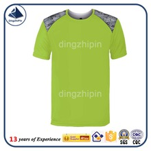 100% cotton blank promotion t-shirt production