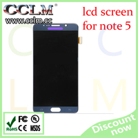 China manufacturer oem lcd screen for samsung galaxy note 5, mobile phones display digitizer for note 5