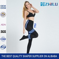 High-waist skin care keep skin smooth slim lift seamless stocking leg tights shaper for woman