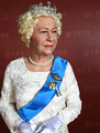 HerMajesty Queen Elizabeth II Lifelike Full Size Silicone Wax Figure