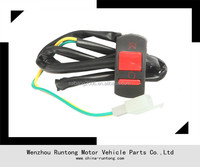 Motorcycle 7/8 Handlebar Accident Hazard Light 2 Wires Switch ON/OFF Button DH