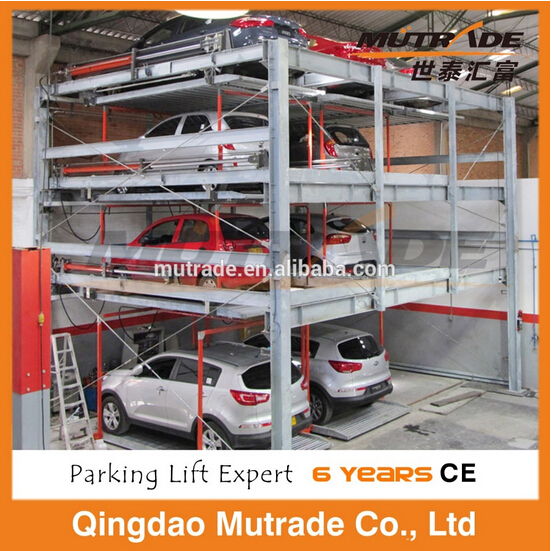 Hotel parking system lift sliding automatic lift sliding system for car parking