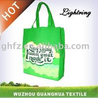 canvas printed shopping bag