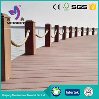Anti-uv Durable WPC outdoor decking floor for outdoor use