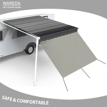 Caravan awning wall privacy screen car side sunscreen sun camping shade