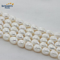 Hot sale pearl jewelry, grade A 11-12mm natural fresh water pearl strand wholesale