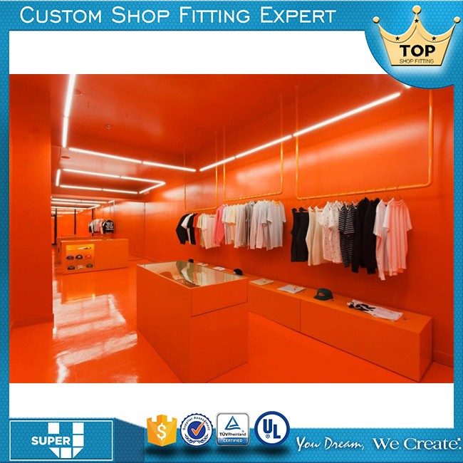 Super U Special Design Functional Ladies' Clothes Kiosk
