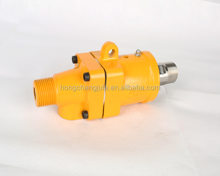 High temperature duoflow female thread coupling coolant/hot water rotary union