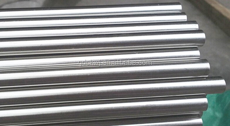 Chrome Steel Railing Metal Hanging Cabinet Rod