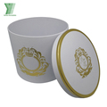 Cheap luxury Round flower gift box cardboard boxes for flowers