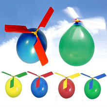 Wholesale Kids Latex Helicopter Balloon For Party Supply