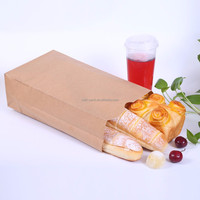 Custom Printed Disposable Kraft Grocery Paper Bag