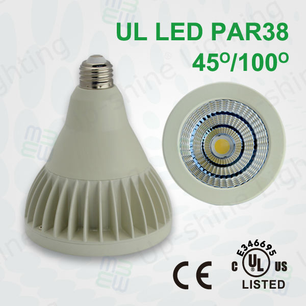 UL & Energy star listed Sharp COB chip AC100-277V 5 years warranty Par38 18W led par light cob