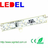 led strip lights to backlight signs 3 led module rgb 60 am 0.72w