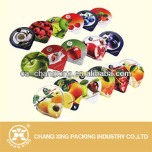 Printed fruit jelly automatic sealing film easy to seal and tear off