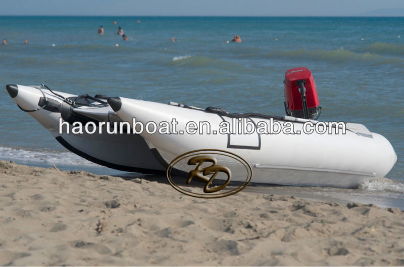 410 PVC inflatable racing high speed boat