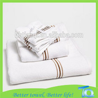 Wholesale High quality 100% cotton terry white bath towel bath foot towel