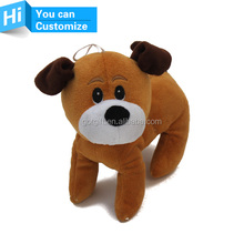 Cute Dog Pet Puppy Toys Plush Animals Squeaky Plush Sound Toy