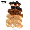 Shengtai hair factory direct sale cheap virgin Peruvian hair free sample hair bundles