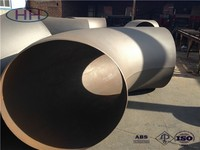 ANSI/ASME B16.9 Seamless/Welded Carbon Steel BW pipe fitting,90 degree welded elbow