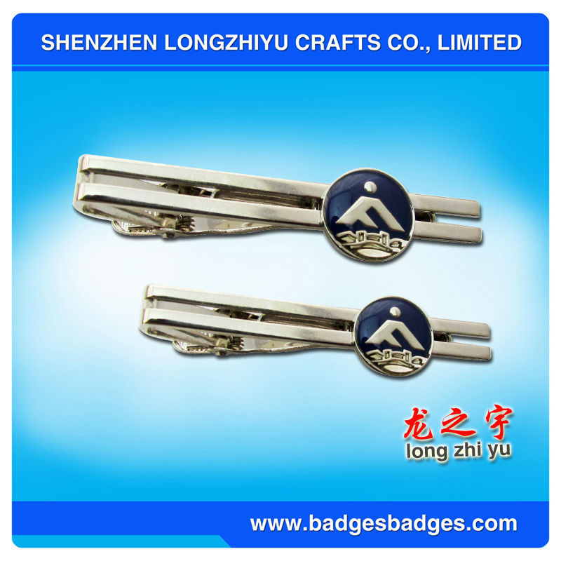 Metal Breastpin/Clip On Tie For Decoration