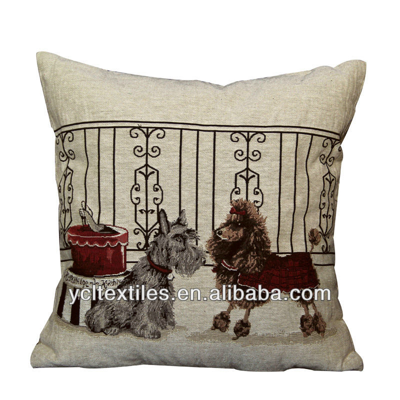 Double dogs cartoon series Cushion&Cushion cover pillow