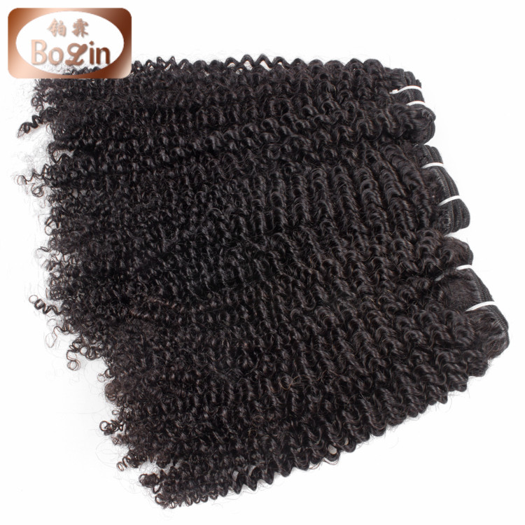 8inch to 30inch Wholesale Price Remy Human Hair Russian Hair,Double Drawn Afro Kinky Curly Hair Extensions for African American