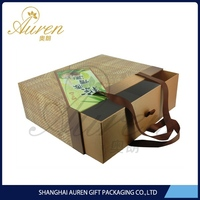 Custom made food grade environmental paper board bento carton boxes for packing fast food