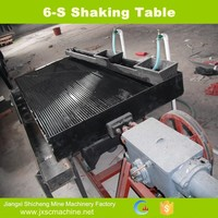 2014 high quality China supply scheelite manufacturing shaking table