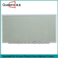High Quality Aluminum Picture And Gypsum Board Inlay wall Paneling Material AP7711