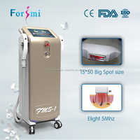 SHR ipl machine multi function both for permanent hair removal and skin rejuvenation
