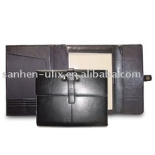 Imitation Leather portfolio with Magnetic Button