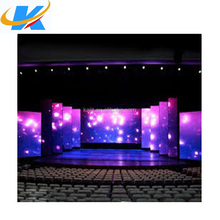 Waterproof P4 rental led display for indoor/outdoor exhibition,stage 62500 dots