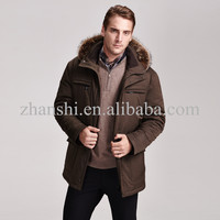 top international clothing brands down hoodied wind breaker mens winter jacket
